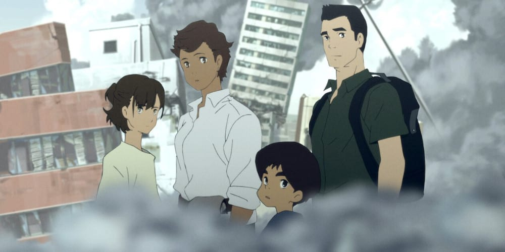 Japan Sinks 2020 anime review family.