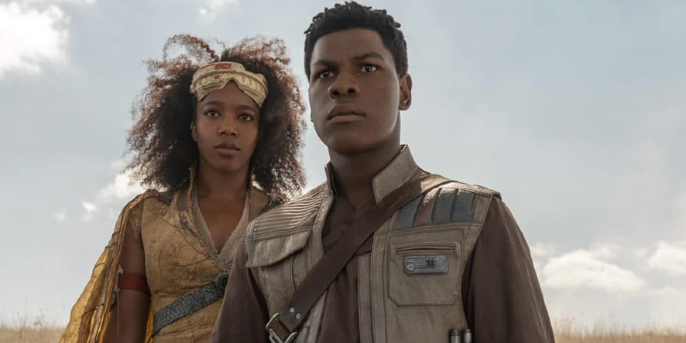 John Boyega Standing Up to Racism in Disney, Star Wars, Finn, Movie Industry, Rey, Rose, Adam Driver, Daisy Ridley, Black Heroes, Black Lives Matter, JJ Abrams, British GQ)