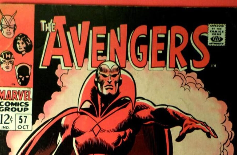 Behold the Vision! (The Avengers Vol. 1 #57-58)