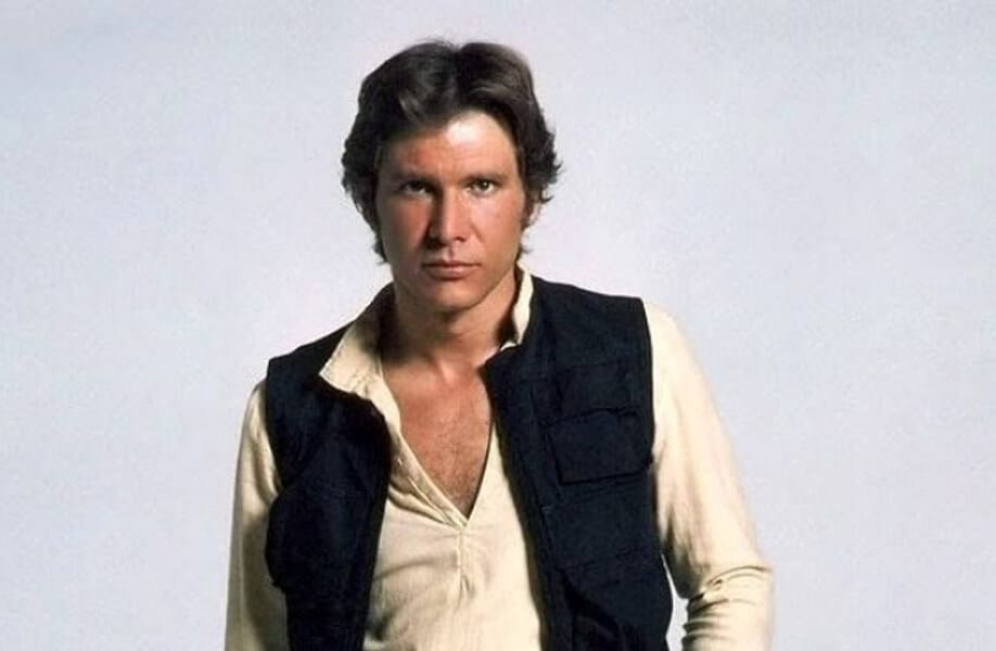 Han Solo: One of the Rebel Alliance's leader and Princess Leia's lover