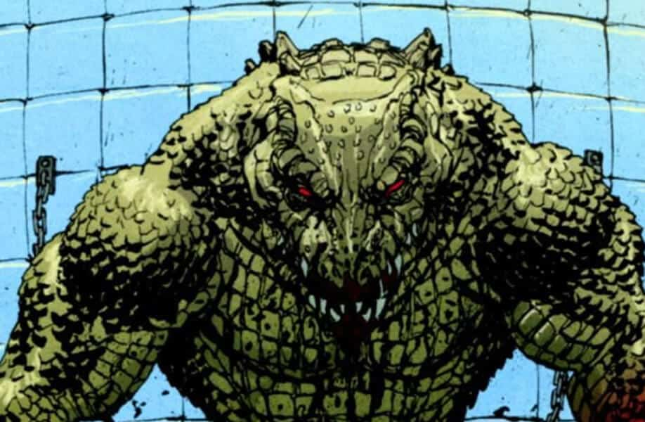 Killer Croc: A strong villain with reptilian features