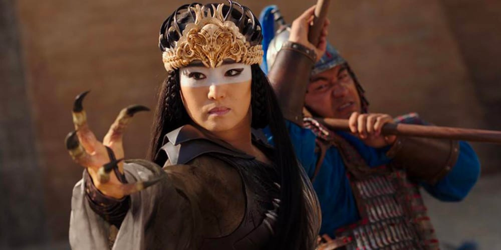 Live-Action Mulan review Witch.