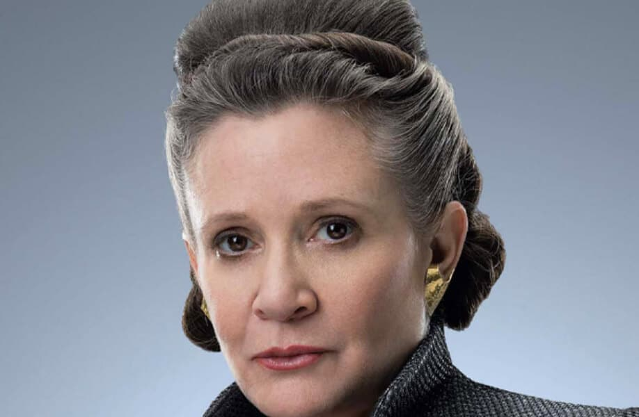 Princess Leia Organa: One of the Rebel Alliance's leader and Luke's twin sister