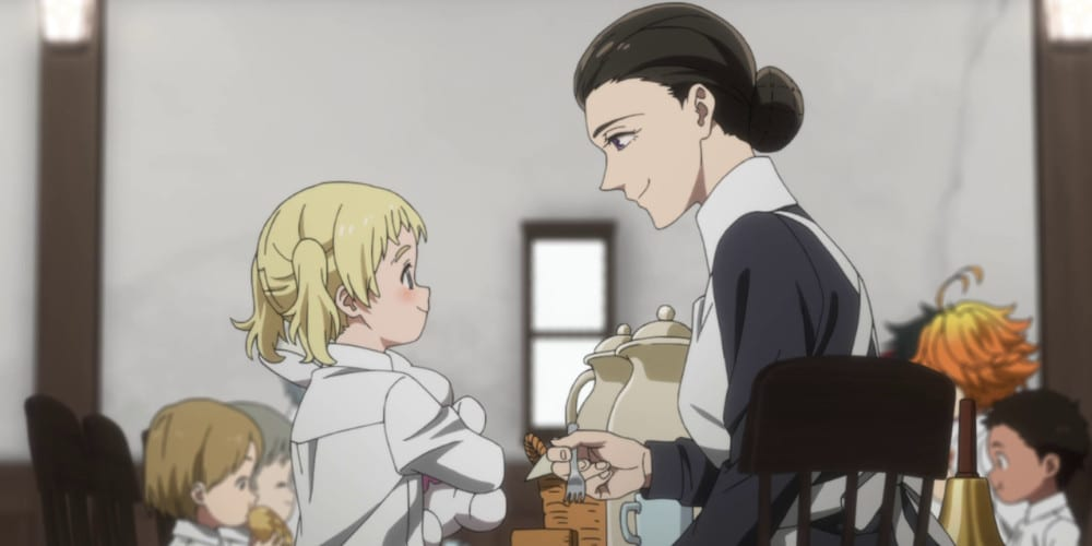 The Promised Neverland anime review Mom
