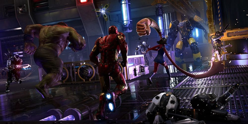 marvel's avengers player decline