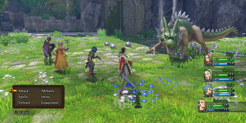 Dragon Quest 11 top five adult anime games