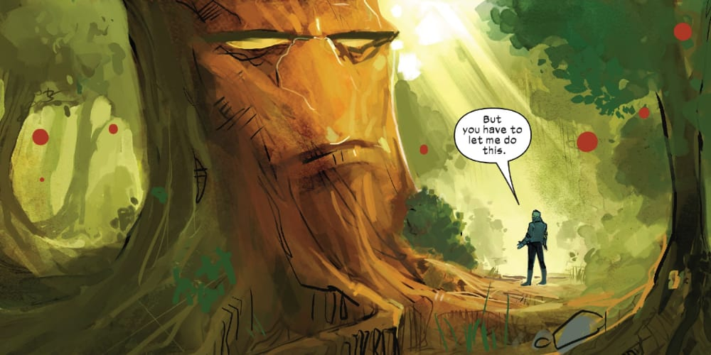 New Mutants #13: X of Swords Chapter Seven, Doug Ramsey, Illyana Rasputin, Magik, Exodus, Charles Xavier, Mister Sinister, Cable, Wolverine, Apocalypse, Krakoa, Arakko, Otherworld, Cypher