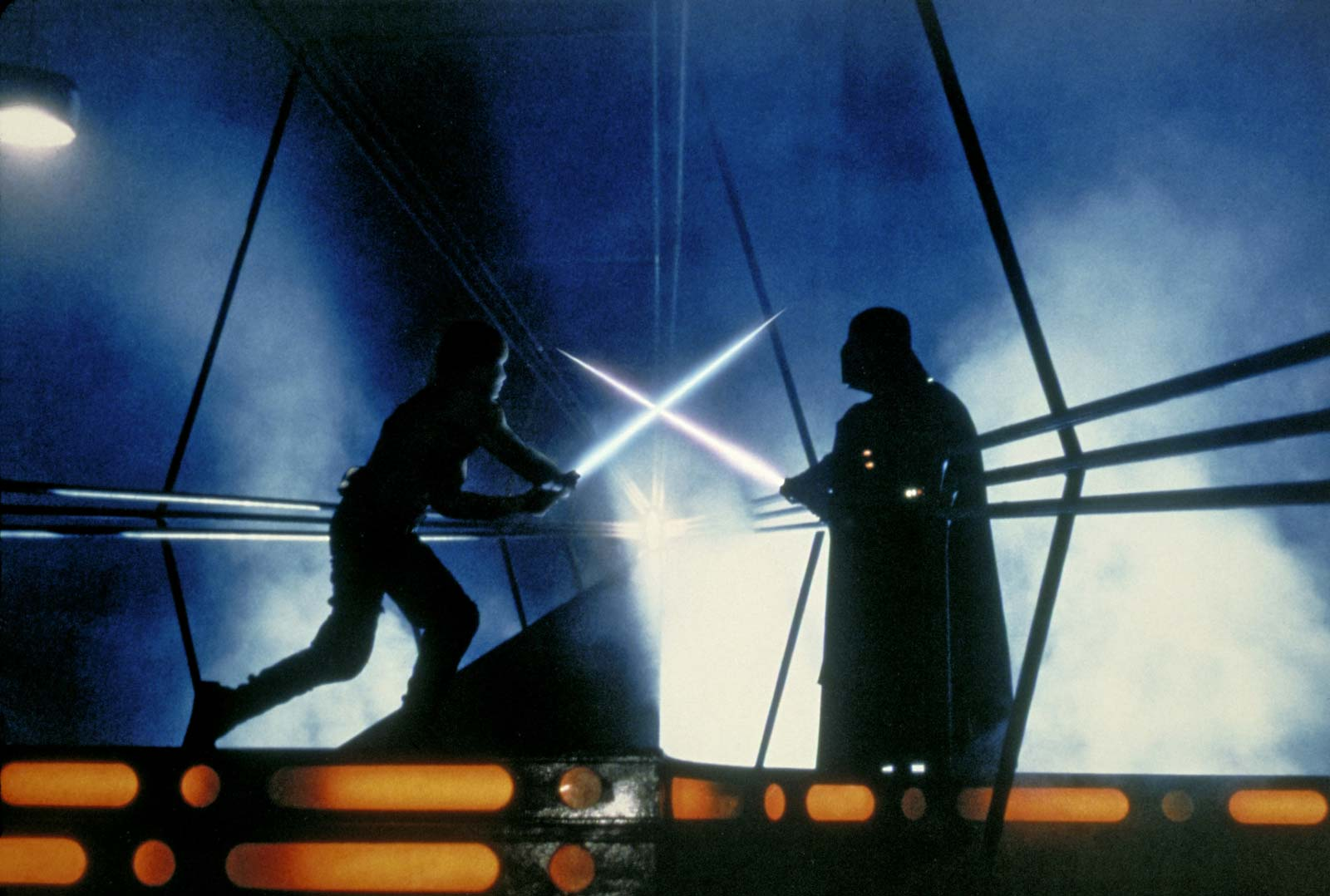 Ralph McQuarrie Star Wars Concept Art Luke and Vader Actual