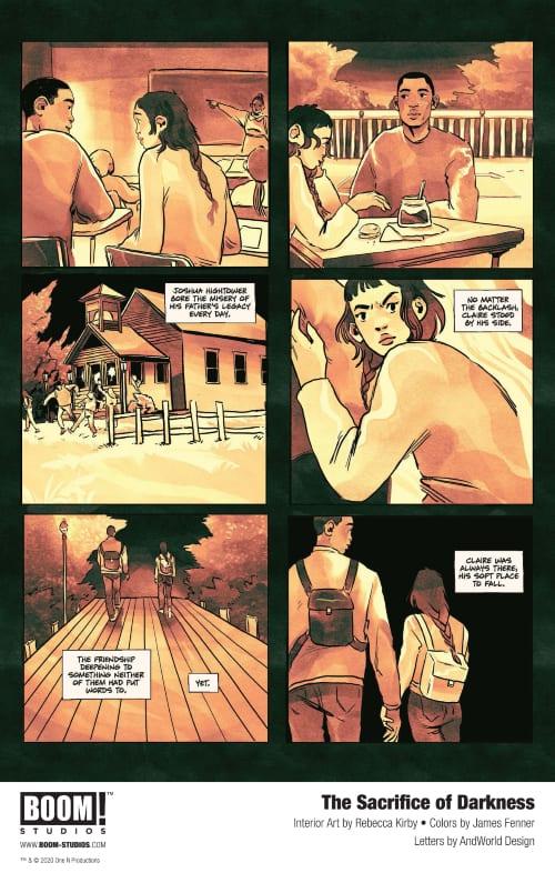 Roxane Gay's The Sacrifice of Darkness, Arachaia, Boom Studios, Tracy Lynne Oliver, Rebecca Kirby, James Fenner, Bad Feminist, John Lewis, Nate Powell, March Trilogy, World of Wakanda