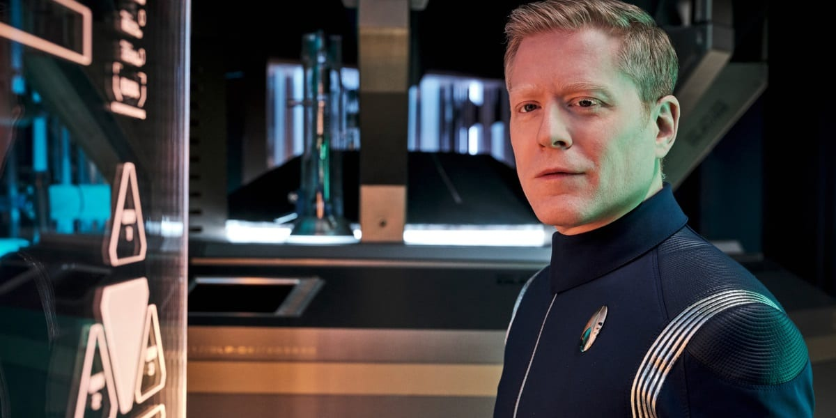 Star Trek Discovery Season 3 Premiere Crew on Discovery Stamets Anthony Rapp
