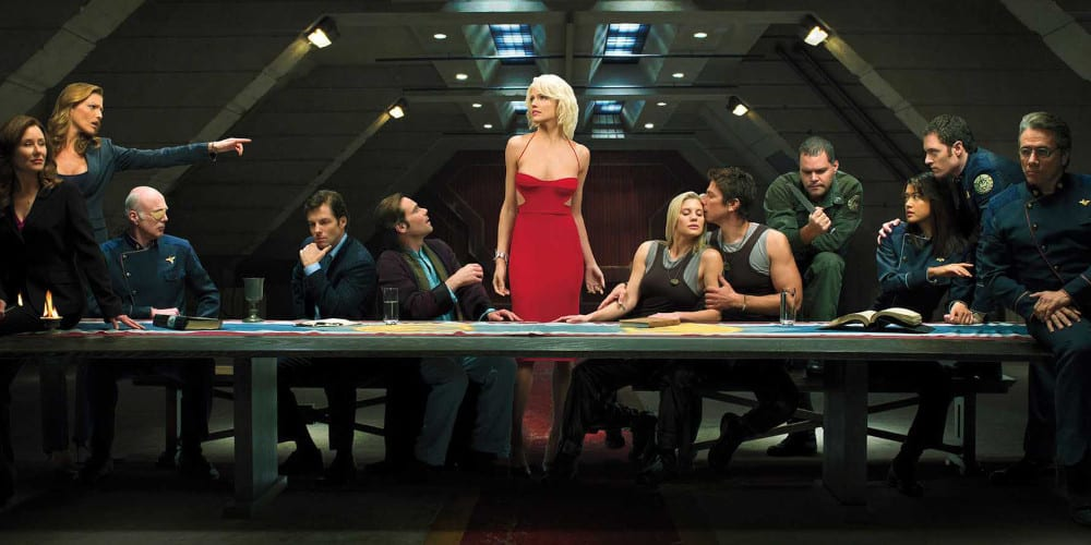 Battlestar Galactica movie reboot cast.