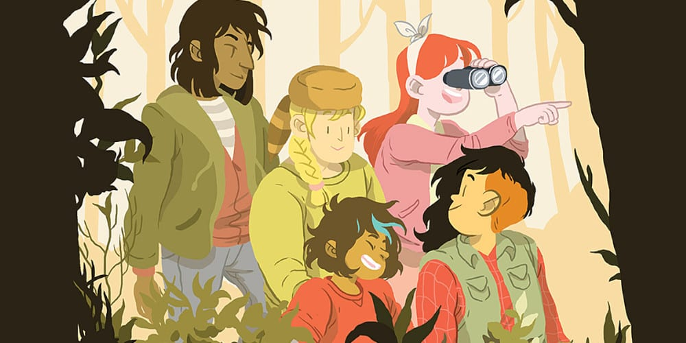 Lumberjanes on HBO Max featured.