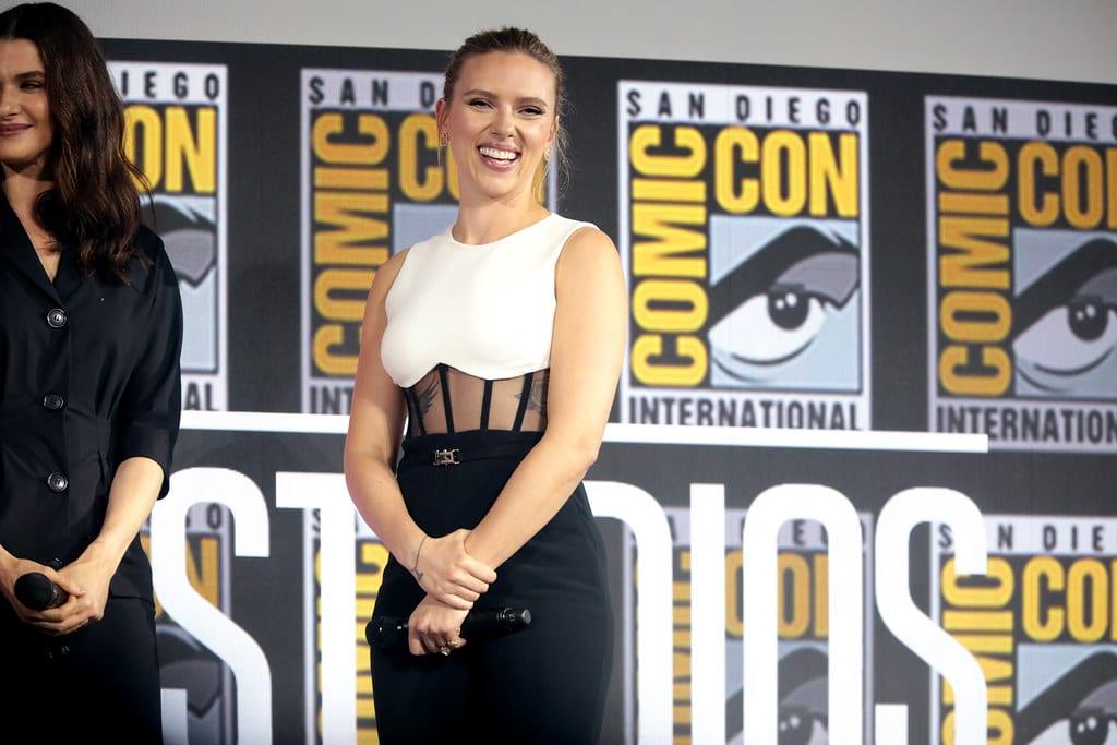 Scarlett Johansson Bride