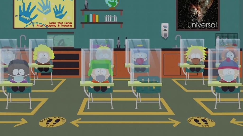 South Park pandemic