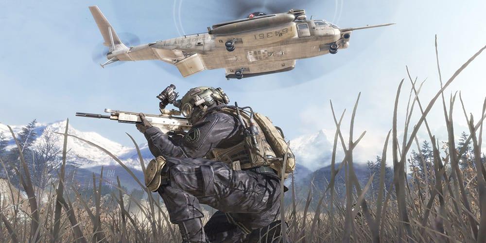 history of modern warfare 2