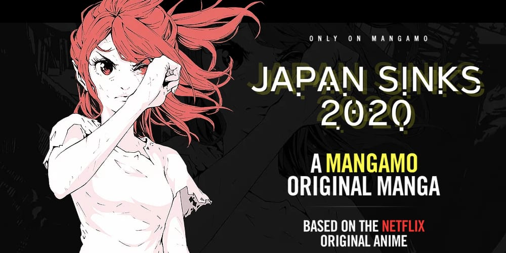 Sony Entertainment Partnering with Mangamo, Netflix, Japan Sinks 2020, Manga, Graphic Novels, Streaming Service, Knights of Sedoni, Ghost in the Shell