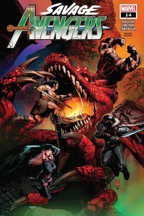 Monthly Marvel Comics You Should Read This November, Savage Avengers #14, US Agent #1, Wolverine Black White and Blood #1, Gerry Duggan, Christopher Priest, Adam Kubert, Matthew Rosenberg