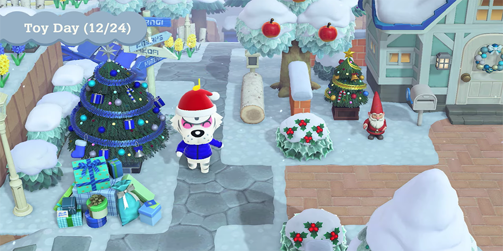 animal crossing winter update