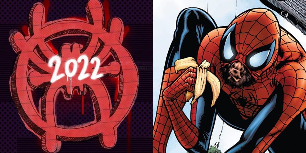 New Spider-Verse Logos, Spider-Man, Miles Morales, Spider-Gwen, Spider-Ham, Marvel Comics, Spider-Man 1602, Spider-Man 2099, Zombie Spider-Man, Punk Rock Spider-Man, Spider-Monkey, Spider-Kid, Captain Universe Spider-Man
