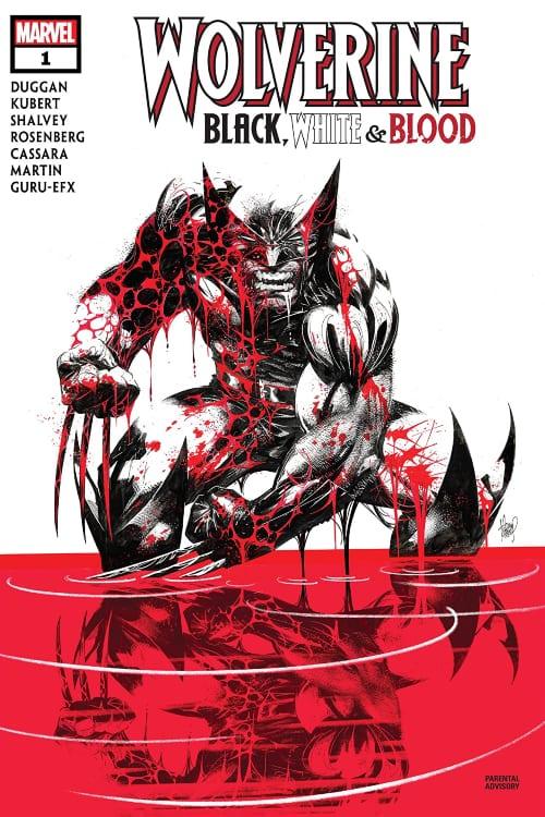 Savage Avengers #14, US Agent #1, Wolverine Black White and Blood #1, Gerry Duggan, Christopher Priest, Adam Kubert, Matthew Rosenberg