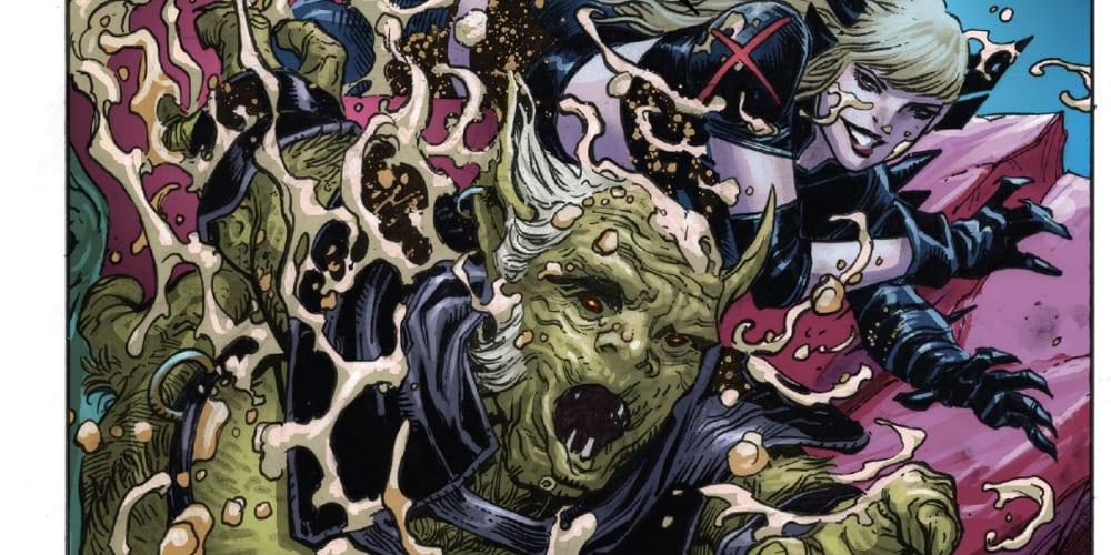 Wolverine, Magik, Storm, Otherworld, X-Men, Excalibur, Hellions, Cable, Captain Avalon, Captain Britain, the Mad Jim Jaspers, Pogg-Ur-Pogg, Solem, Summoner, Apocalypse, Annihilation, Gorgon, Redroot, Benjamin Percy, Gerry Duggan