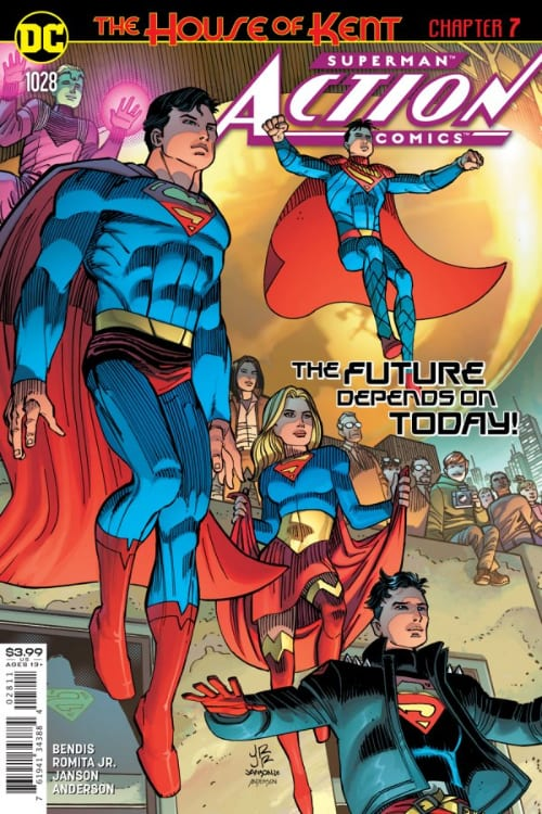 Monthly DC Comics you should read this December, Justice League: Endless Winter, Batman, Clown Hunter, James Tynion IV, Ron Marz, Andy Lanning, Brian Michael Bendis, Superman, Action Comics, Daredevil