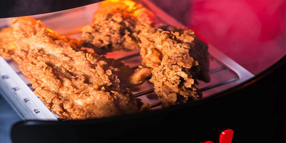 KFConsole. La consola de videojuegos donde puedes calentar pollo.