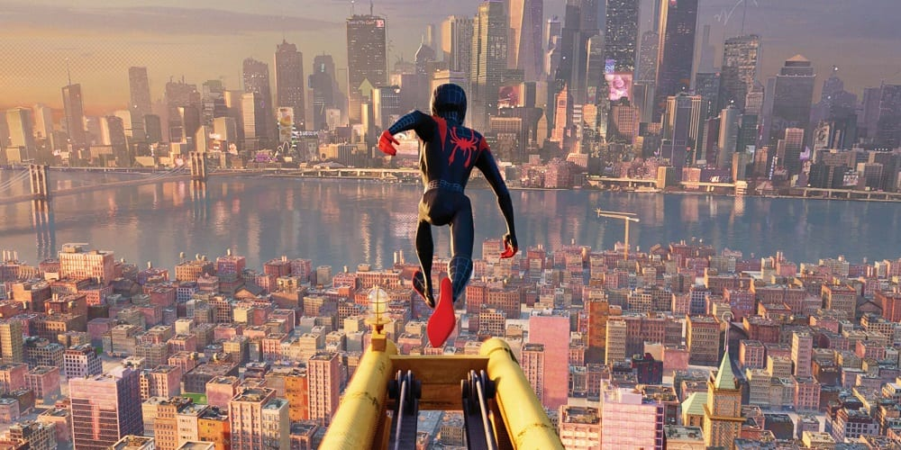 Spider-Man Into the Spider-Verse Anniversary Miles Morales