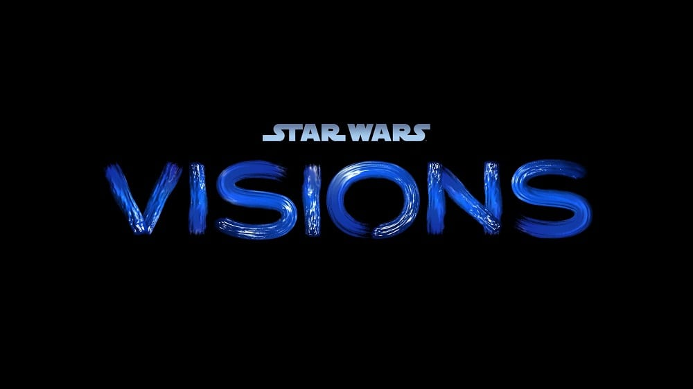 Disney INvestor's Day Star Wars visions title card