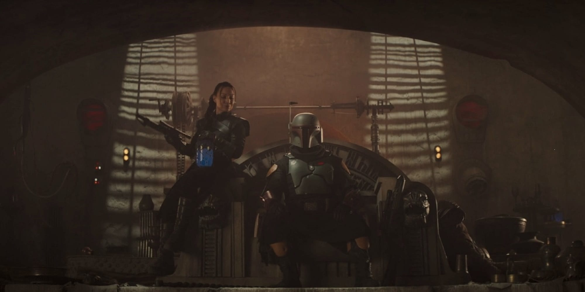 The Mandalorian Season 2 Finale The Book of Boba Fett Fennec Shand Ming-Na Wen Temuera Morrison