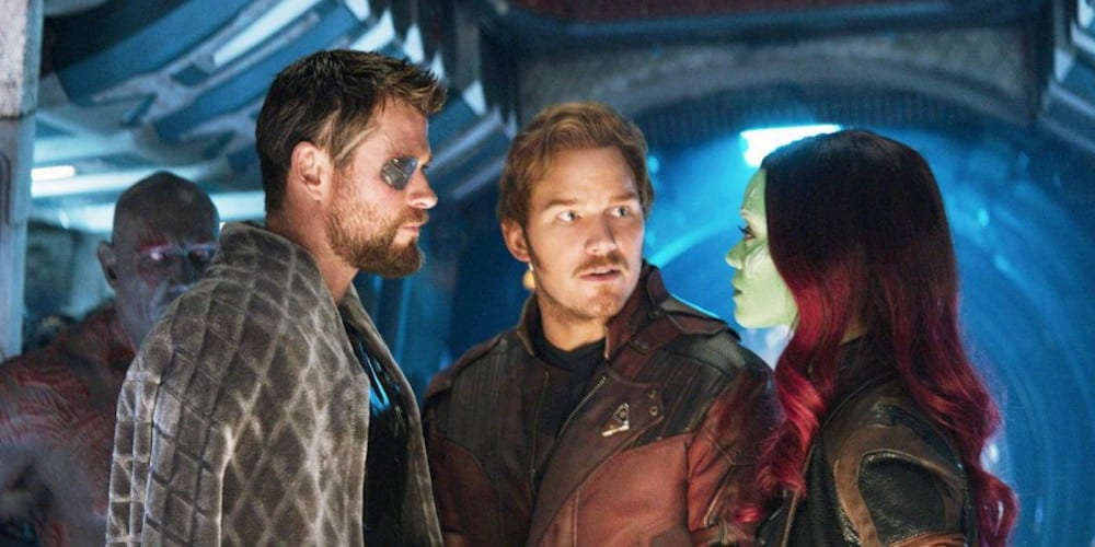 Marvel Comics' Star-Lord Is Bisexual tension.