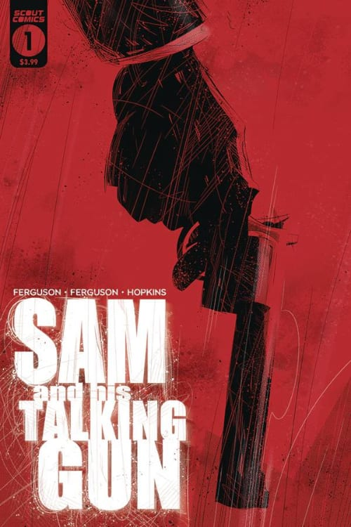 Monthly Indie Comics You Should Read this December, Sam and His Talking Gun, Image Comics, Gideon Falls, Home Sick Pilots, Scout Comics, Jeff Lemire, Andrea Sorrentino