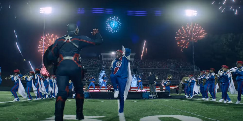 The Falcon And The Winter Solider trailer sports.