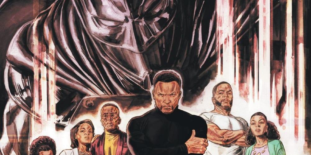 Deluxe Hardcover, John Ridley, Dustin Nguyen, Travel Forman, DC Comics, Tim Fox, Bruce Wayne, DC Future State, Gotham.