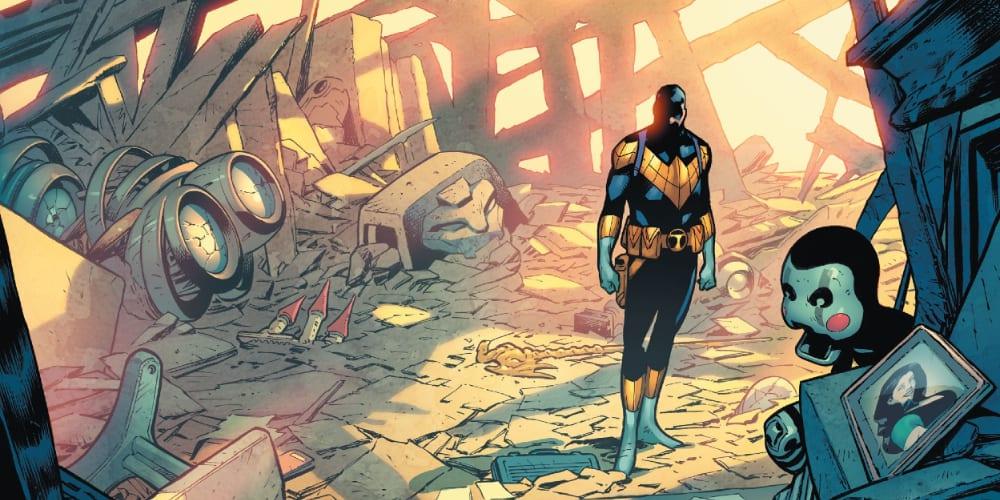 Dark Detective, Grifter, Batman, Robin, Tim Drake, Jason Todd, Nightwing, Teen Titans, Robin Eternal, Batgirl, Spoiler, Magistrate, Cyborg, Beastboy