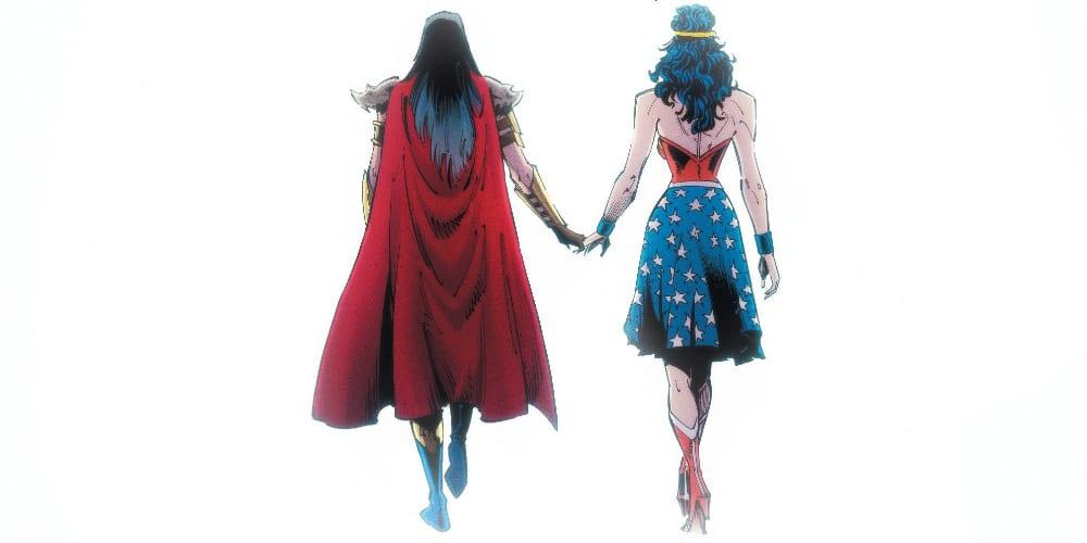Batman Who Laughs, Wonder Woman, Darkest Knight, Dark Nights: Death Metal #7, Scott Snyder, Greg Capullo