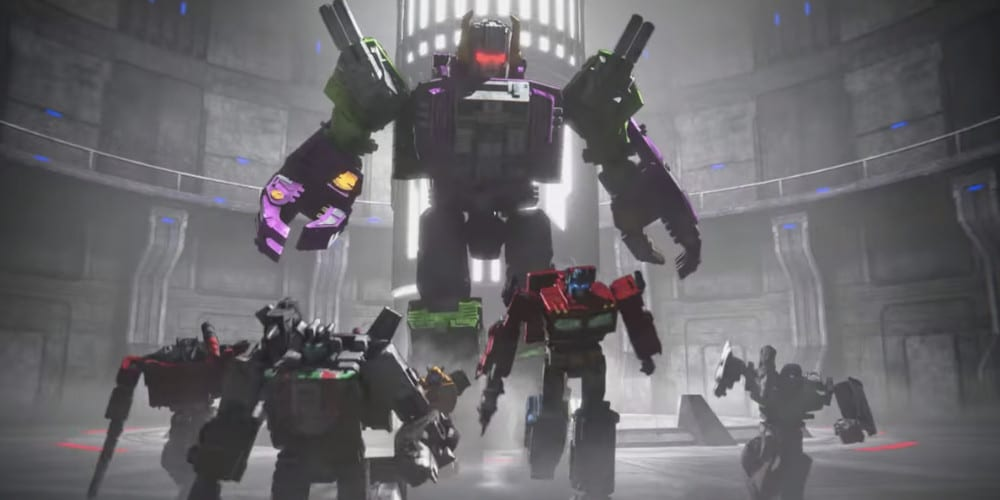 Transformers: War For Cybertron: Earthrise review action.