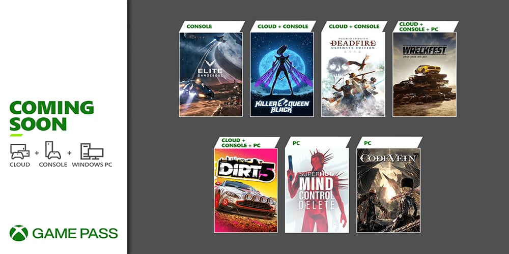 Xbox Game Pass for February 2021